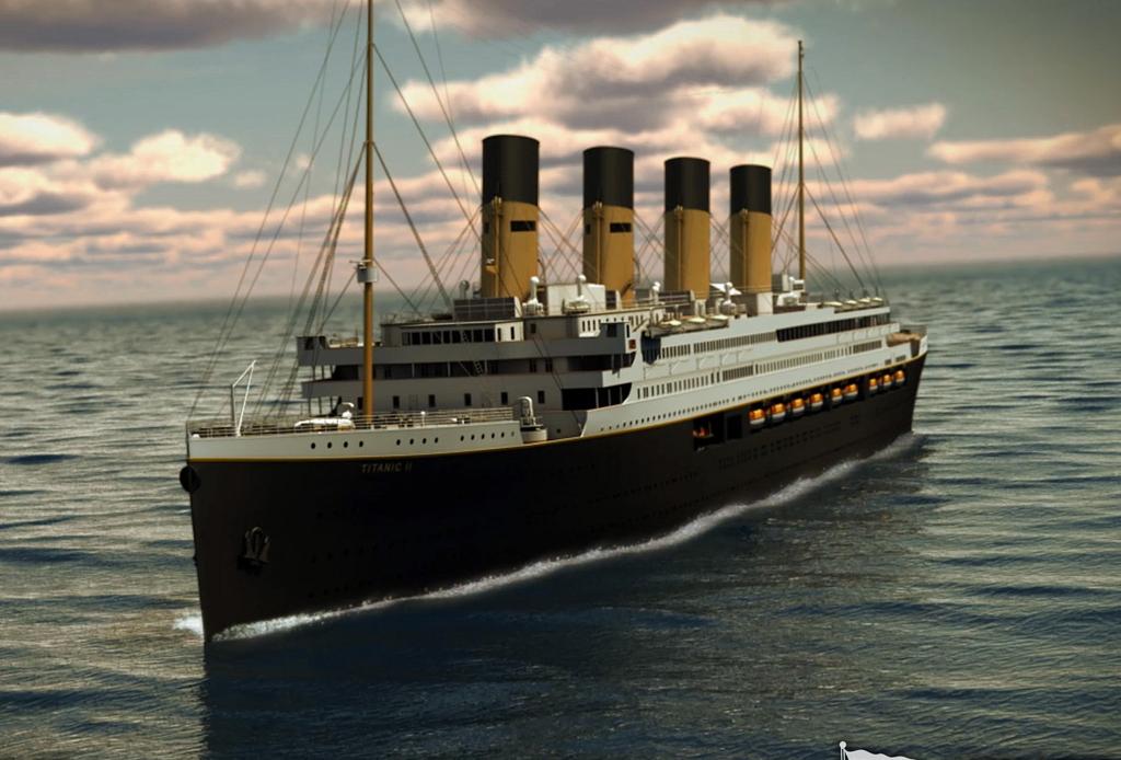 El Titanic 2 es una realidad y zarpará en el 2016