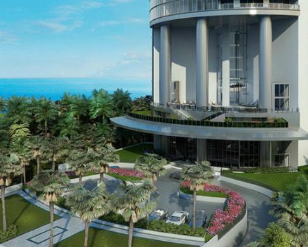 Porsche Design Tower Miami empezó a construirse en abril de 2013