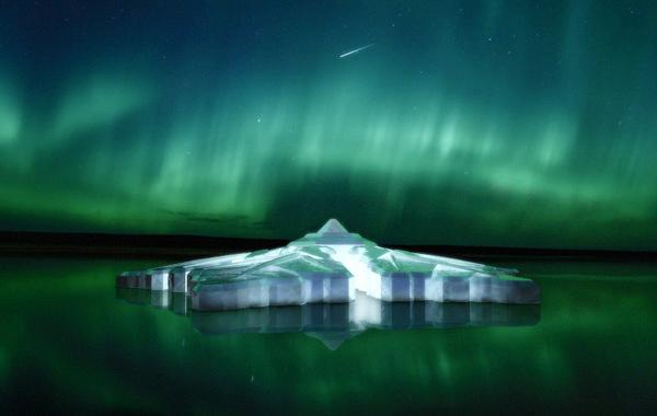 Ahora podremos vivir la espectacular vista de las auroras boreales desde un lugar mágico: el nuevo hotel Krystall.