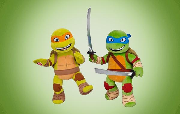 Miguel Ángel y Leonardo.