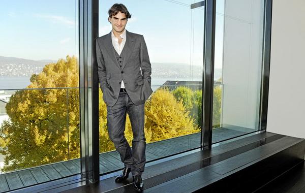 El reconocido tenista Roger Federer estrenará casa a 20 minutos de Zurich, en Suiza.