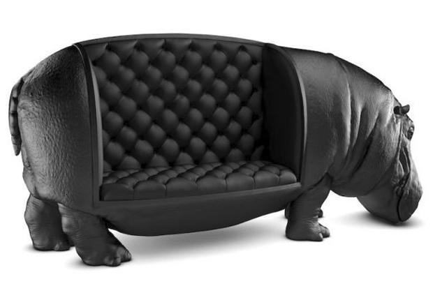 Un sof de hipop tamo for El hipopotamo muebles