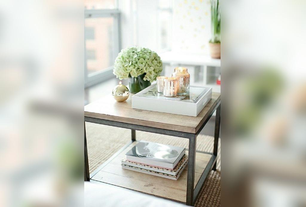 4 formas de decorar una mesa de centro - Decorar mesas de centro ...