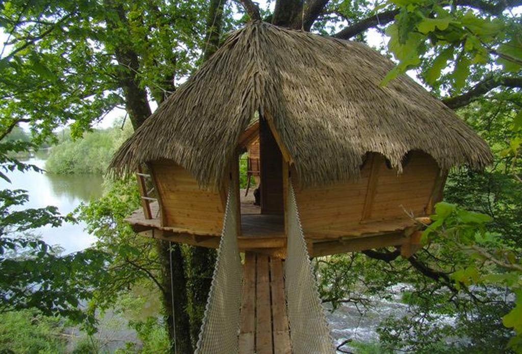 7 opciones de hospedaje para los amantes del ecoturismo - Cabanas en los arboles francia ...
