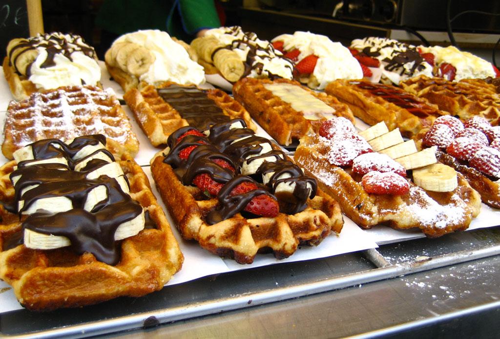 Resultado de imagen para waffles belgas