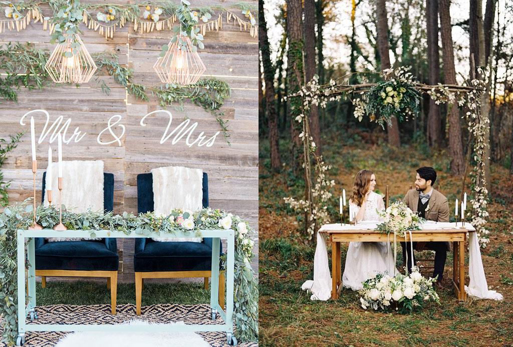 Ideas muy originales para decorar la mesa de novios for Todo ideas originales para decorar