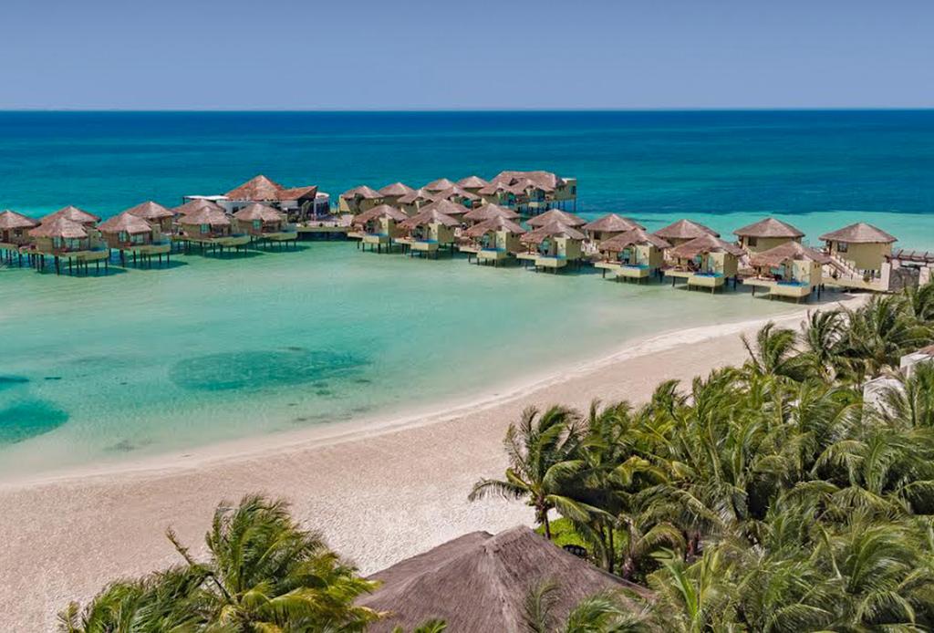 Llega el primer concepto de hotel sobre el mar a m xico for Cabanas sobre el mar en mexico