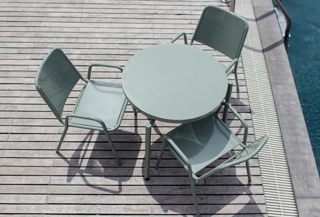 Nexo el mobiliario ideal para exteriores dise ado por ariel rojo y gaia - Mobiliario ideal ...