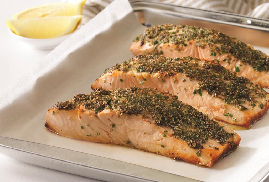 Una nueva forma de preparar salm n hazlo crujiente - Formas de cocinar salmon ...